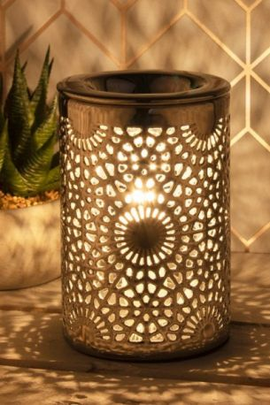 Desire Electric Aroma Burner Round Pattern