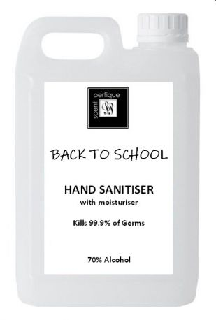 Back to School Hand Sanitiser Gel Bumper Pack 5 Litres