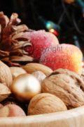 Festive almonds