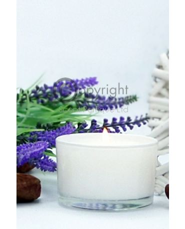 White Travel Candle