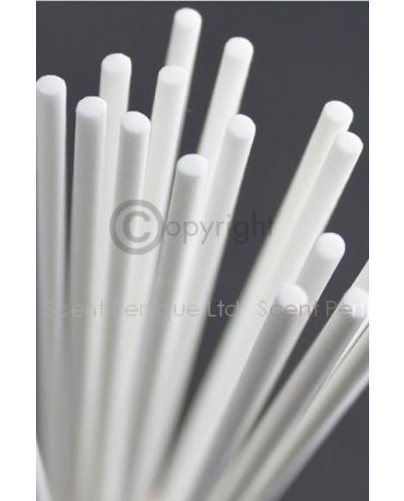 WHITE FIBRE DIFFUSER REED/STICKS 3.5MM X 25CM NEW