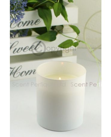 ELEGANCE MATT WHITE LUXURY SCENTED CANDLE