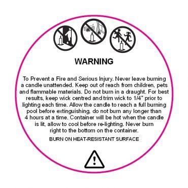 Candle-Warning-Label