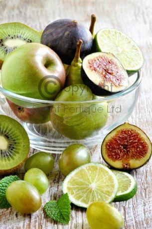 Fresh Fig & Green Apple