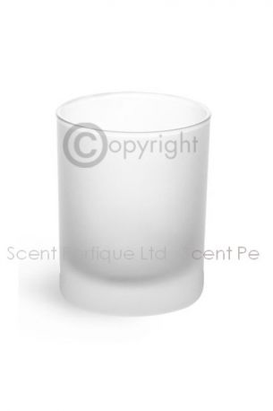 Meredith Frosted Candle Container