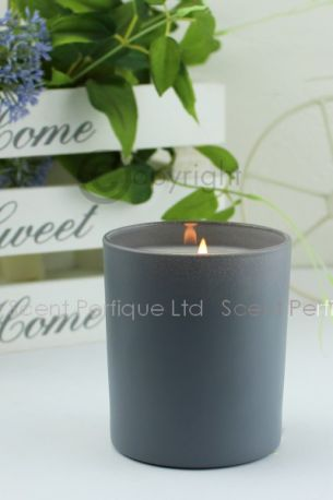 ELEGANCE MATT GREY LUXURY SCENTED CANDLE