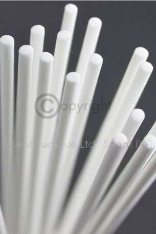 WHITE FIBRE DIFFUSER REED/STICKS 3.5MM X 25CM NEW