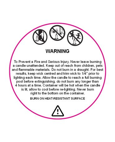 Candle-Warning-Label