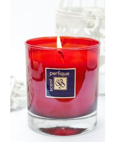 Elegance Red  Scented Candle